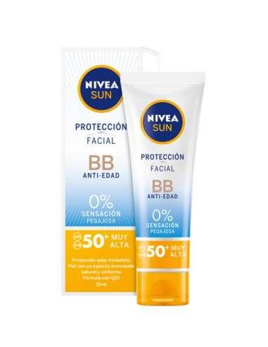 NIVEA PROTECTOR SOLAR 50+ BB ANTIEDAD...