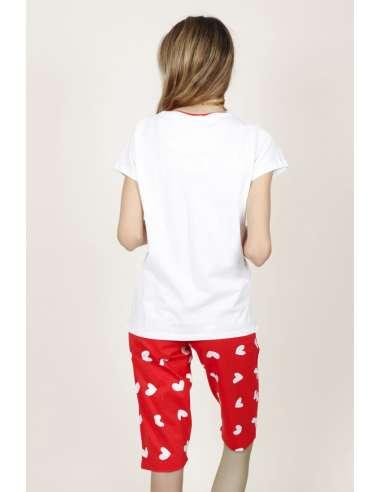 Pijama m.corta smile