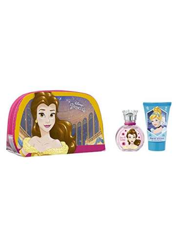 Neceser Princesas + colonia + gel