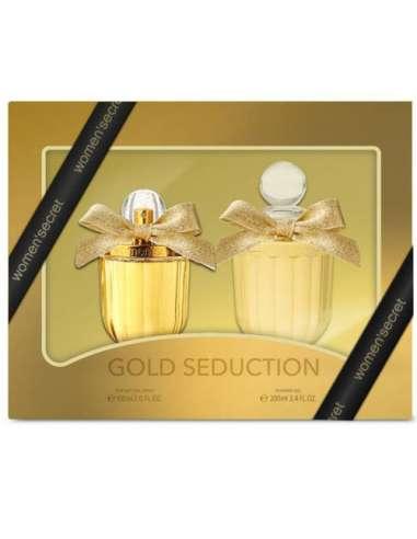 ESTUCHE WOMEN'S SECRET GOLD SEDUCTION...