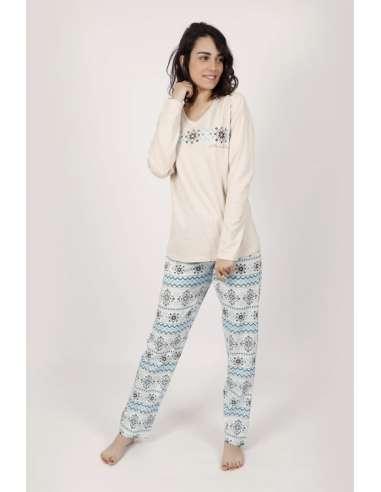 Pijama Mujer Cenefa Admas