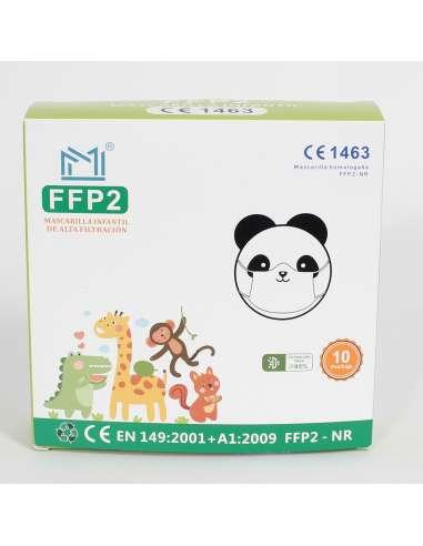FFP2  INFANTIL COLORES